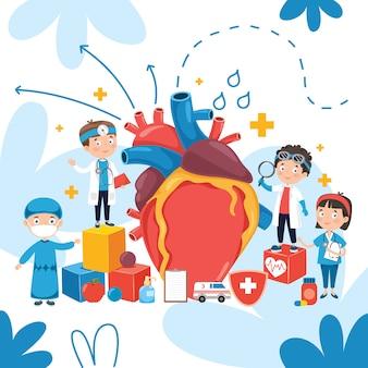 ヘルスケアと医療のコンセプト