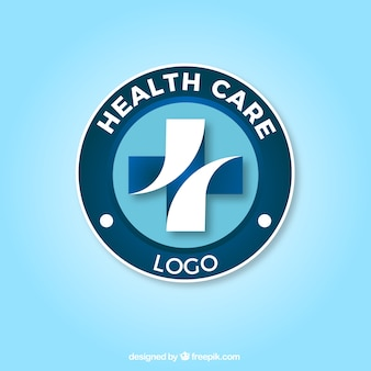 Health care cross logo