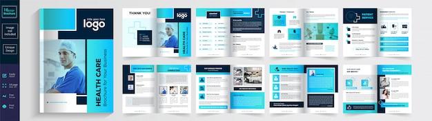 Health care or medical brochure
