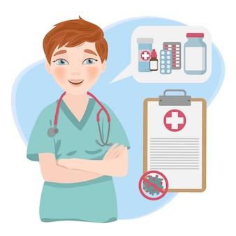 Health care online coronavirus medicine