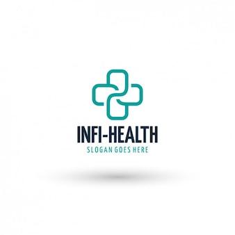 Health clinic logo template