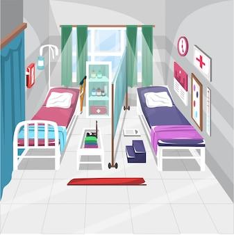 Health emergency unit in the school