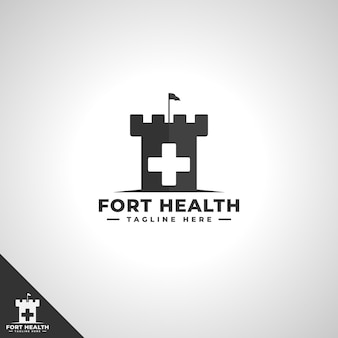 Health fortress 로고