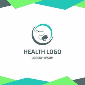 Health logo medical supplies