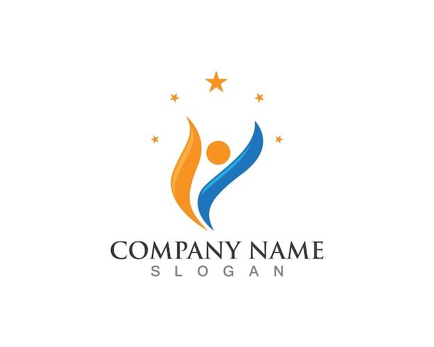 Health logos template symbols