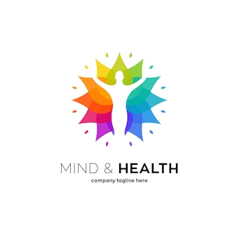 健康蓮のロゴ