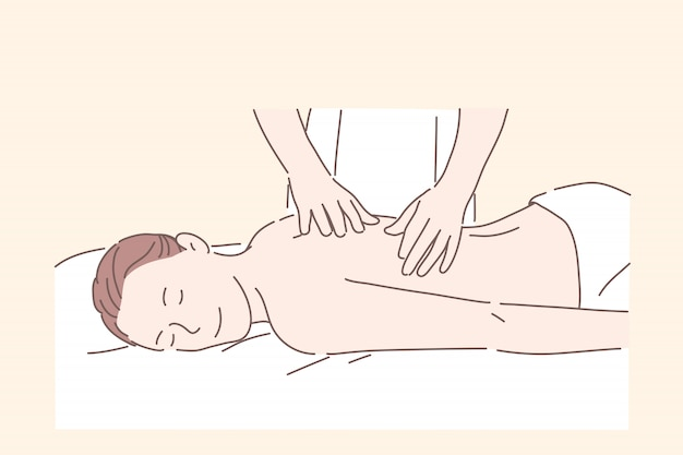Health, massage, spa treatment, relax concept.