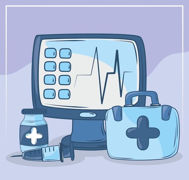 Комплект монитора здоровья