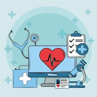 Сердце наблюдения за здоровьем
