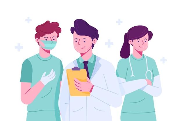 Концепция профессиональной медицинской команды