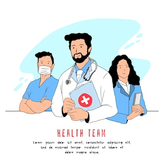 Health professional team