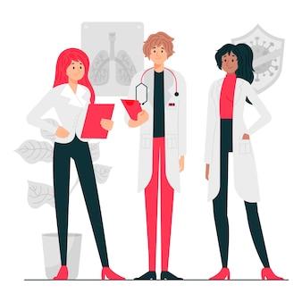 Медицинская команда профессионалов