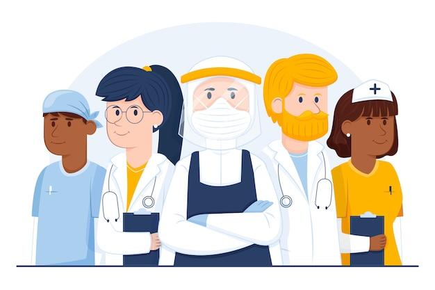 Health professional team
