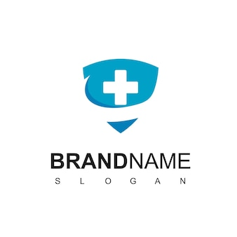 Health protection logo design inspiration
