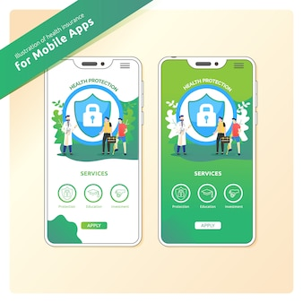 Health protection for mobile apps