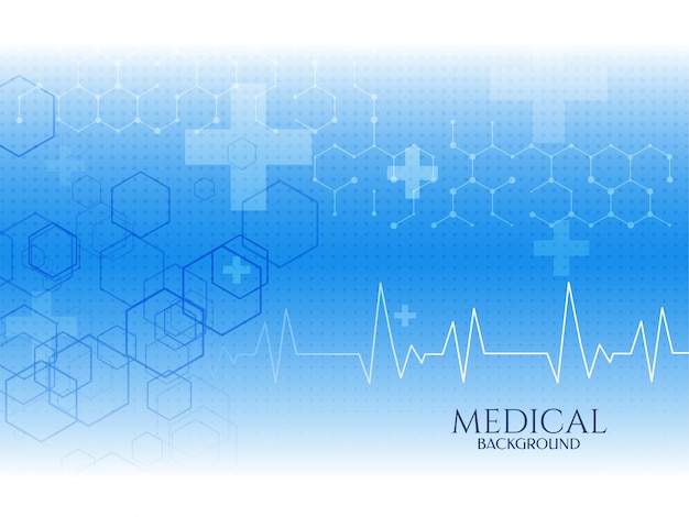 Здравоохранение синий цвет медицинская концепция фон