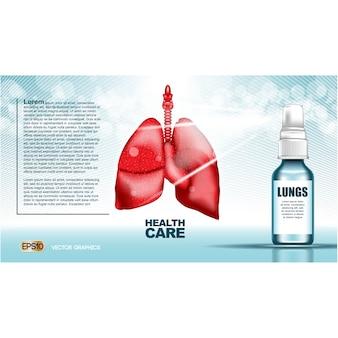 Modello di brochure sanità