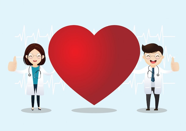 Healthcare and cardiology concept