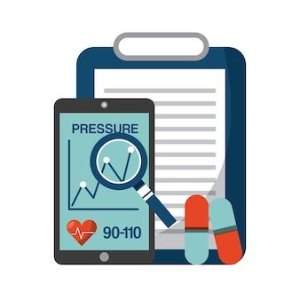 Healthcare concept design, vector illustration eps10 graphic