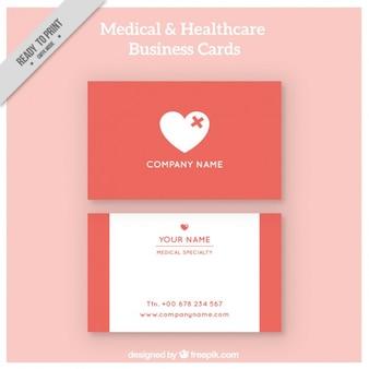 Healthcare corporative card Free Vector