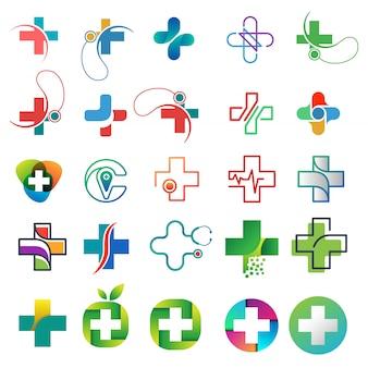 医療ロゴセット