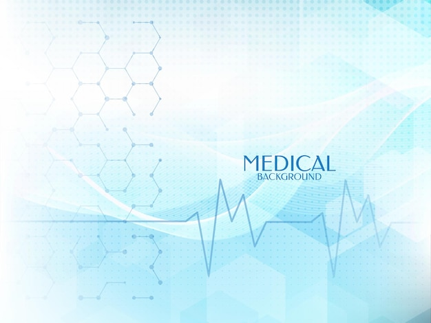 Healthcare and madical soft blue color background