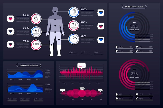 Healthcare medical infographic
