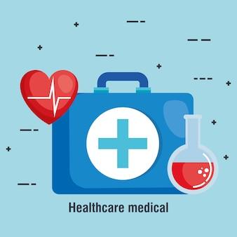 의료 의료 키트 아이콘