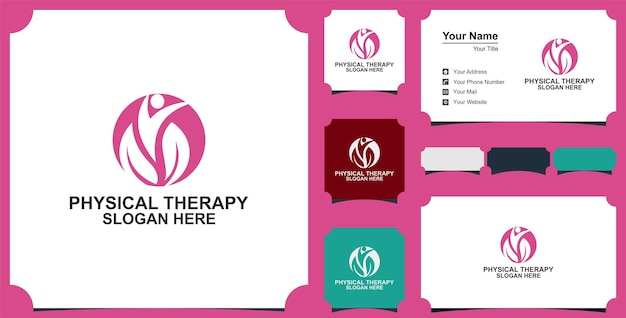 Healthcare medical logoflat vector logo design template element
