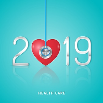 Healthcare and medical new year 2019