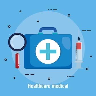 의료 의료 설정된 아이콘
