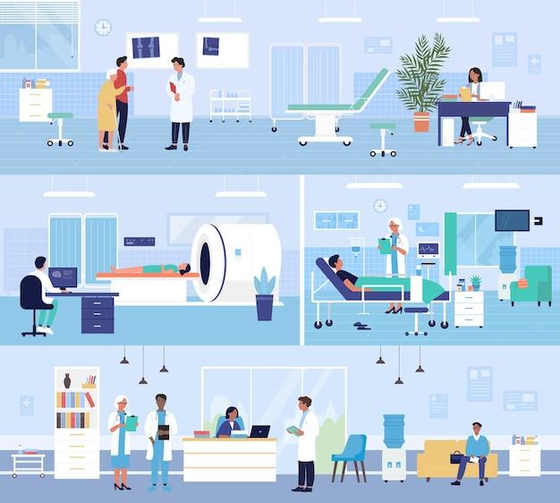 Healthcare medicine hospital service background