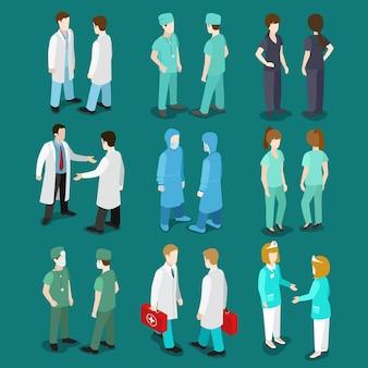 의료 의학 전문가 개념.