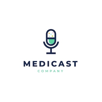 Логотип healthcare podcast