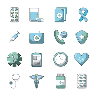 Healthcare related icons