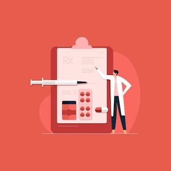 ヘルスケアサービス、医師の診察、医学的アドバイスおよび治療