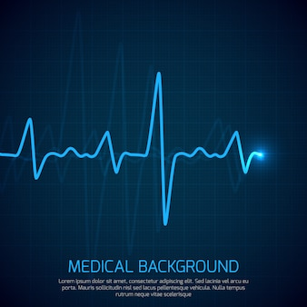 Healthcare vector medical background