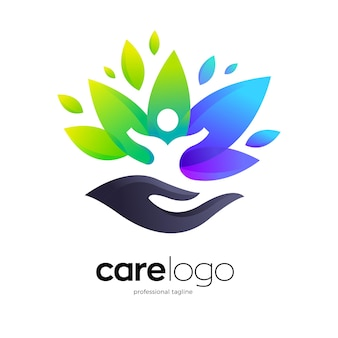 Healthy care logo design