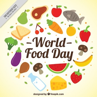 Healthy diet for world food day