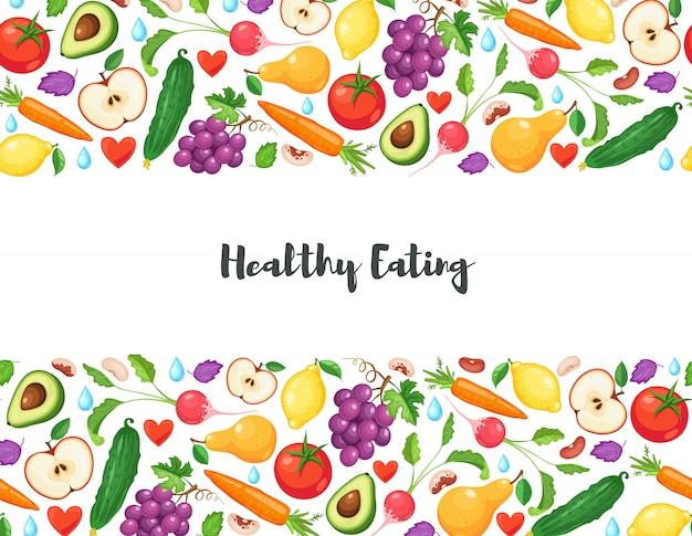 Здоровое питание фон