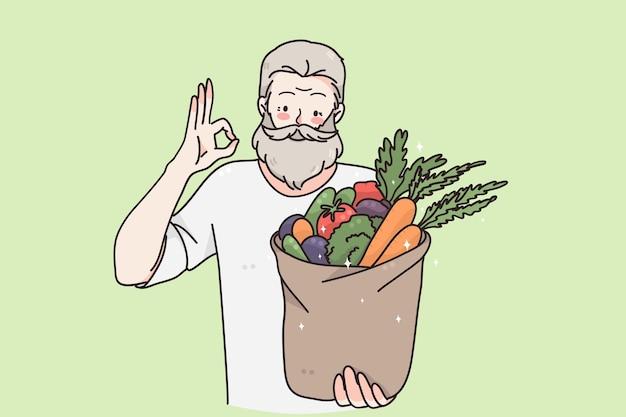 Концепция здорового питания и вегетарианской диеты