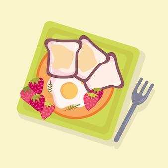 건강식 아침식사