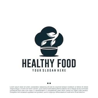 Здоровое питание, свежий, шаблон дизайна логотипа