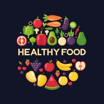 Healthy food fresh