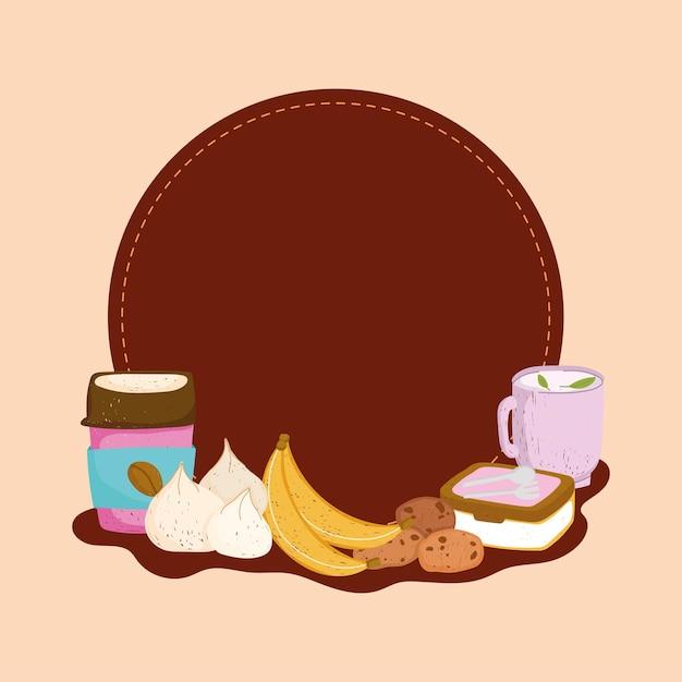 건강 식품 라벨