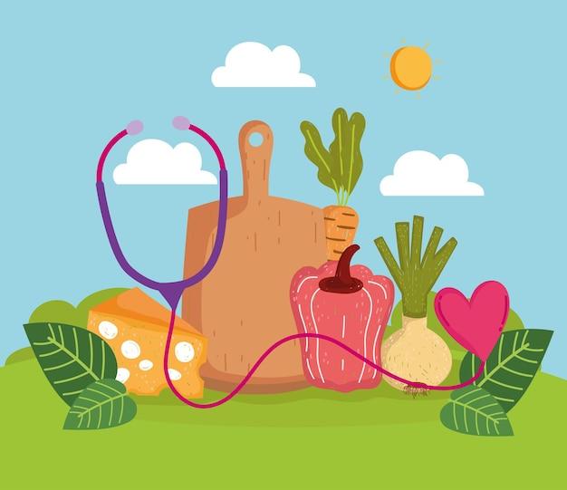 Healthy food vegetables