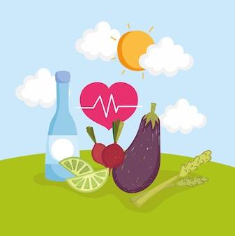 건강 식품 야채