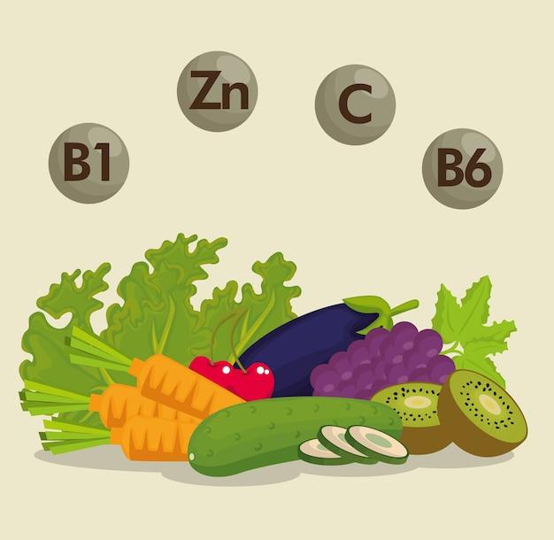 영양 정보가 담긴 건강 식품
