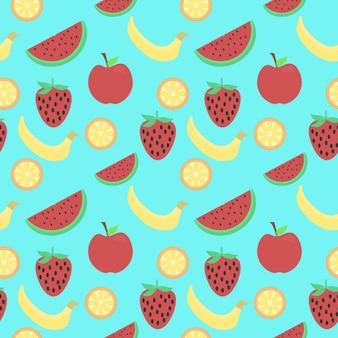 Modello di frutta sana