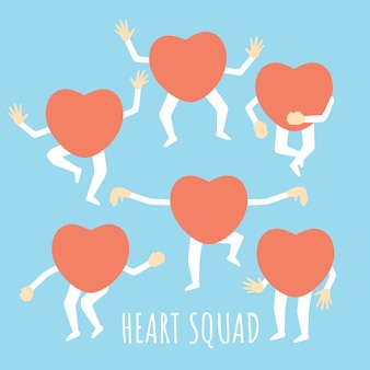 Healthy heart squad